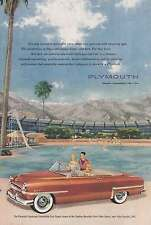 1953 Plymouth Cranbrook Convertible Club Coupe: Its Only Human Print Ad (8964)