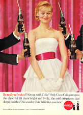 1960 Coca Cola: Dance, Be Really Refreshed Print Ad (24204)