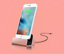 USB Sync Data Desktop Charging Dock Stand Charger For Apple iPhone 8 7 plus 6s 5
