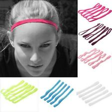 5pcs Elastic Sports Headband Anti-Slip Hairband Hair Band for Running Dance Yoga
