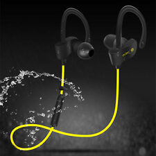 For Samsung iPhone  Wireless Bluetooth Headset Sport Stereo Headphone Earphone