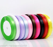 "Wholesale HOT! Mixed 3/8"" Wide Satin Ribbon Scrapbooking B10310"