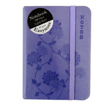 Pocket Notebook, Soft Touch - Pastels Range - 4 Designs  - 100 Pages, 140 x 94mm