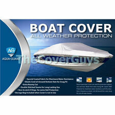 17ft-19ft AquaGuard Boat Cover Series Silver EX DEMO