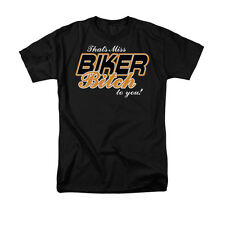 That's Miss Biker Bitch To you! Humorous Funny Saying  Adult T-Shirt