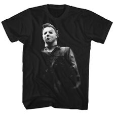 Halloween Mike Meyers Horror Movie Mask Costume Spooky Boo Adult T-Shirt Tee