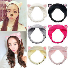 New  Cat Ears Hairband Head Band Headdress Hair Accessories Makeup Tool