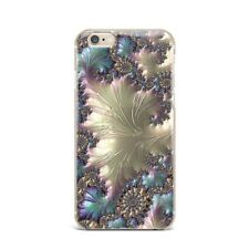 Golden Flowers Floral Marble TPU Rubber Silicone Clear Case Cover Apple iPhone