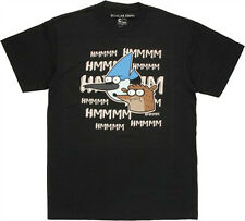 Regular Show Hmmmm T-Shirt Black Men's Licensed NEW