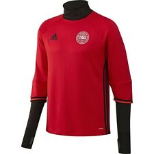*ADIDAS - DENMARK TRAINING TOP RED / BLACK = SIZE ADULTS