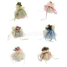 Wedding Party Baby Shower Rose Decor Candy Bag Gift Pouch Party favor Pick Color