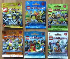 Unopened Lego Series 2 3 4 5 6  Factory Sealed Complete Sets of 16 Minifigures