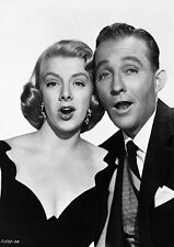 Print Art POSTER Bing Crosby and Rosemary Clooney Singing