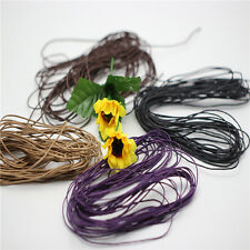 New 10M 1mm Waxed Cotton Cord String Linen Thread Wire Jewelry Bracelet Making