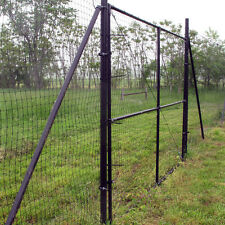 6' High Driveway Gate For Deer Dog Animal Fencing - Various Widths