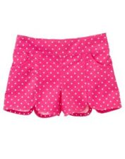 GYMBOREE Girls Shorts CAPE COD CUTIE Size 3T Polka Dot Cotton Pink Toddler NEW