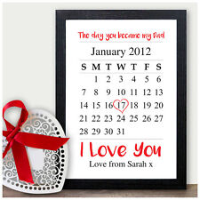 Day You Became My Dad Personalised Christmas Gifts Daddy Father Grandad Presents