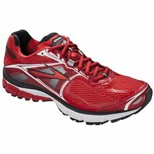 New Mens Brooks Ravenna 5 Running Shoes Red/White/Silver Retail $110