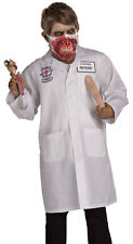 Halloween Doctor Ben Dover Costume with Zombie MD Face Mask Fancy Dress