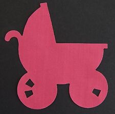 Iron On No Sew Fabric Applique Pram Baby Carriage Many Colours and Cath Kidston