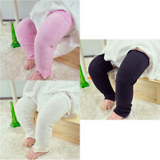 Baby Toddler Kid Solid Color Checks Long Leggings Socks Tights Arm Leg Warmers