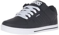 Osiris Protocol Black Black White Mens Skate Trainers Shoes