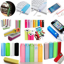 USB External Backup Battery Charger Power Bank case Portable For Mobile Phone