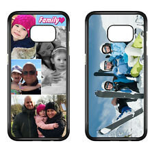 Personalised Samsung Galaxy S3 S4 S5 S6 S7 Edge Mini Case Any Photo/Text