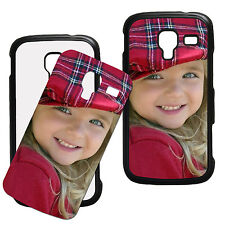 Personalised Samsung Galaxy Ace 1 2 3 Photo Plastic Phone Case Any Image/Text
