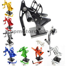 FXCNC Footpegs Rearset Rear Set For Buell XB9S XB12S XB9R XB12R All years 8Color