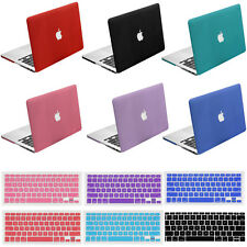 """Hard Rubberized Case Shell + Keyboard Skin Cover for Macbook Air Pro Retina 13"""""""