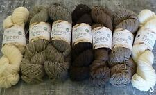 West Yorkshire Spinners Undyed British Breeds Aran 100g VARIOUS SHADES pure wool