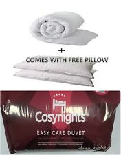 TESTHollow Fiber Quilts/Duvets + Plus comes with Free Pillows 10.5,13,5,15 togs