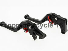FXCNC for Suzuki GSXR 700 GSR750/GSXS750 SV650 Black Short Clutch Brake Levers