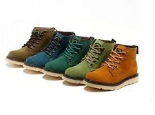 new mens suede Chukka Style Desert boots work warm winter walking shoes Hot Sale