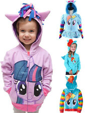 Kid Toddler Girl My Little Pony Angeltee Wings Hoodie Zip Sweatshirt Coat Jacket
