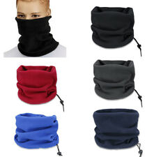 Women Ski Motorcycle Neck Warmer Gaiter Thermal Face Mask Snood Beanie Hat Scarf
