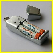 Rechargeable NiMH Battery AA AAA High Capacity USB Charger Good Quality
