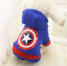 Small Medium Dog Clothes Puppy Coat Pet Jacket Apparel Jumpsuit Teddy Schnauzer