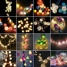 Christmas Battery Operated Fairy String Lights Party Wedding Xmas LED Lamp Decor