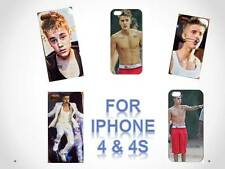 New Justin Bieber Cover Case for iPhone 4/4s