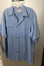 Dickies work shirts Mens short sleeve button front Shirt
