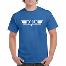 T Shirt Top Dad Funny S Gift Tee Hero Wings One Super Father Papa New Fly Star L