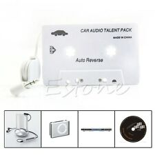 3.5mm Cassette Car Aux Stereo Audio Tape Adapter  For iPod iPhone CD MP3 Player