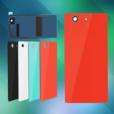 Back Door Battery Rear Housing Cover Tempered Glass Case For Sony Xperia Series