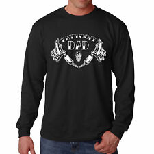 Long Sleeve Tattooed S Dad T Shirt Funny Father Gift Tattoo Artist New Ink Papa