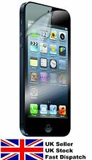 3 Pack - iPhone 5 5S iPhone 5C & iPhone 4 4S clear screen protectors film guard