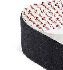 Black 5CM wide VELCRO Brand Hook and loop Self Adhesive sticky back tape