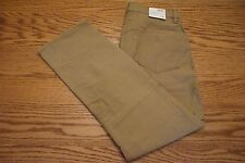 NWT MEN'S GAP PANTS JEANS Multiple Sizes Straight Fit Tan Brown