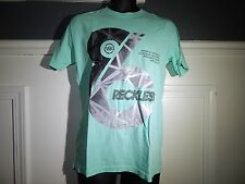 Young & Reckless Mens T-shirt Green  Nwt Skate